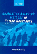 Qualitative Research Methods in Human Geography On How To Conduct Qualitative Research In