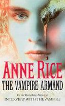 The Vampire Armand-book cover