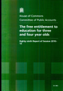 download ebook the free entitlement to education for three and four year olds pdf epub
