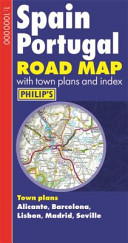 Philip s Spain and Portugal Road Map