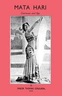 Mata Hari Courtesan And Spy
