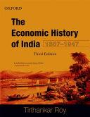 Economic History of India  1857 1947
