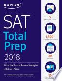 SAT  Total Prep 2018