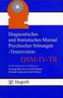 Diagnostisches und Statistisches Manual Psychischer St  rungen   Textrevision   DSM IV TR