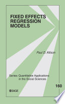 Fixed Effects Regression Models