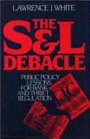 The S&L debacle