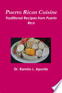 illustration Puerto Rican Cuisine