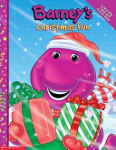 Barney's Christmas Fun A Colorful Tree Donned With