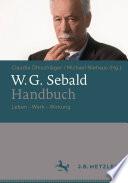W.G. Sebald-Handbuch