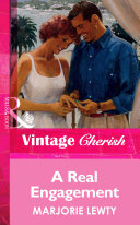 A Real Engagement Mills Boon Vintage Cherish