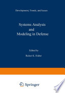 Systems Analysis And Modeling In Defense book