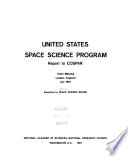 United States Space Science Program book