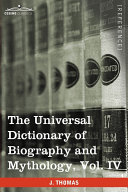 download ebook the universal dictionary of biography and mythology pdf epub