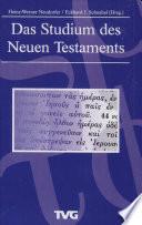 Das Studium des Neuen Testaments