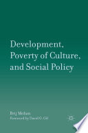 Development  Poverty of Culture  and Social Policy