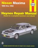 Nissan Maxima 1985 1992