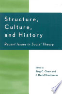 Structure  Culture  and History