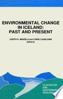 Environmental Change in Iceland  Past and Present