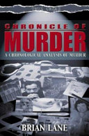Chronicle Of Murder : and the serial killer, the development...