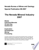 MI2007: The Nevada mineral industry 2007