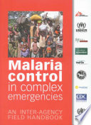 Malaria Control In Complex Emergencies
