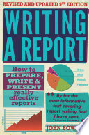 Writing A Report 9th Edition