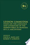 Leshon Limmudim