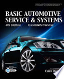 Today s Technician  Basic Automotive Service and Systems