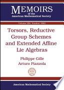 Torsors  Reductive Group Schemes and Extended Affine Lie Algebras
