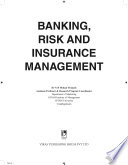 Banking Risk And Insurance Management