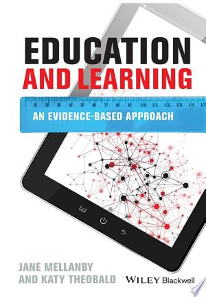 Education and Learning: An Evidence-based Approach - ISBN:9781118728086