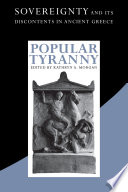 Popular Tyranny Concern In Ancient Greece Where The