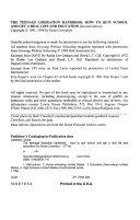 The Teenage Liberation Handbook
