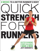 Quick Strength for Runners Book