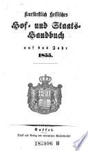 Kurfürstlich Hessisches Hof- und Staats-Handbuch