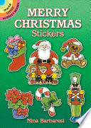 Merry Christmas Stickers : soldier, reindeer, christmas candles, ornaments, wreaths, poinsettias, other...