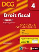Droit fiscal   DCG     preuve 4   Manuel et applications