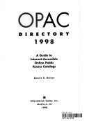 OPAC Directory 1998