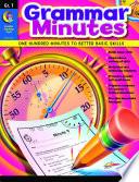 Grammar Minutes  Gr  1  eBook