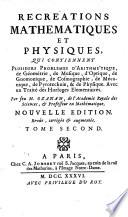 Problemes de Gnomonique  Problemes de Cosmographie  Problemes de Mecanique