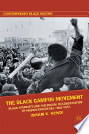 The Black Campus Movement Book PDF