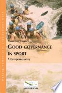 Good Governance in Sport