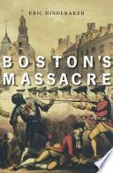 Book Boston   s Massacre
