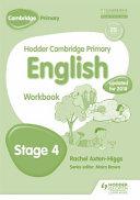 Hodder Cambridge Primary English  Stage 4