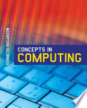 Concepts In Computing book