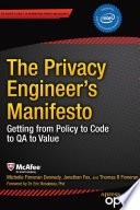 The Privacy Engineer s Manifesto