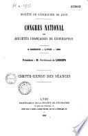 Congrès national des Sociétés françaises de géographie
