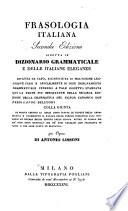 Frasologia italiana