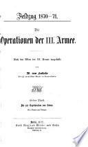 Die operationen der III.