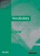 English for Academic Study  Vocabulary
